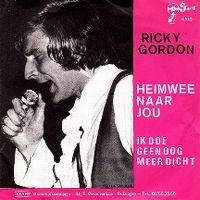 Cover Ricky Gordon - Heimwee naar jou