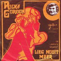 Cover Ricky Gordon - Lieg nooit meer