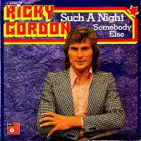 Cover Ricky Gordon - Such A Night