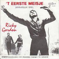 Cover Ricky Gordon - 't Eerste meisje