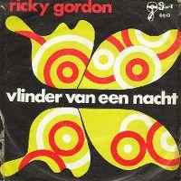 Cover Ricky Gordon - Vlinder van een nacht