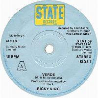 Cover Ricky King - Verde