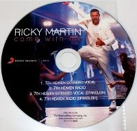 Cover Ricky Martin - Come With Me