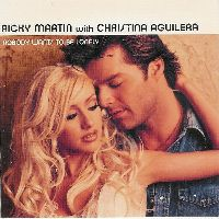 Cover Ricky Martin with Christina Aguilera - Nobody Wants To Be Lonely