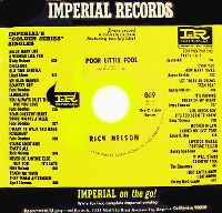 Cover Ricky Nelson - Poor Little Fool