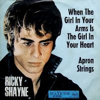Cover Ricky Shayne - When The Girl In Your Arms Is The Girl In Your Heart