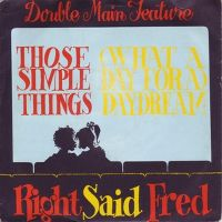 Cover Right Said Fred - Those Simple Things / (What A Day For A) Daydream