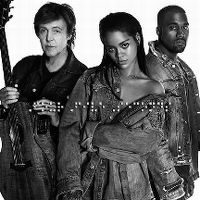 Cover Rihanna and Kanye West and Paul McCartney - FourFiveSeconds