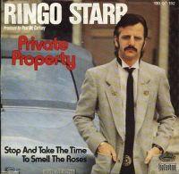 Cover Ringo Starr - Private Property