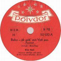 Cover Rita Paul - Baby, ich geh' mit Vati aus