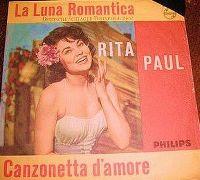Cover Rita Paul - La luna romantica