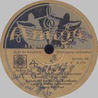 Cover Rita Paul / Walter Dobschinski und die Swingband des Berliner Rundfunks - Ay, Ay, Ay (Minnie From Trinidad)