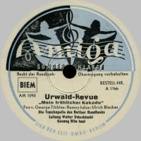 Cover Rita Paul / Walter Dobschinski und die Tanzkapelle des Berliner Rundfunks - Mein fröhlicher Kakadu