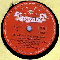 Cover Rita Paul und Bully Buhlan - Du sollst mir doch nicht immer auf den Mund sehn