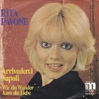Cover Rita Pavone - Arrivederci Napoli