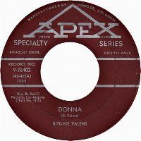 Cover Ritchie Valens - Donna