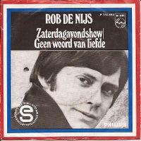 Cover Rob de Nijs - Zaterdagavondshow