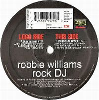 Cover Robbie Williams - Rock DJ