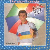 Cover Robert Paul - 't Kan vriezen 't kan dooien