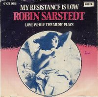 Cover Robin Sarstedt - My Resistance Is Low