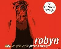 Cover Robyn - Do You Know (What It Takes)
