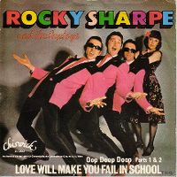 Cover Rocky Sharpe And The Replays - Love Will Make You Fail In School