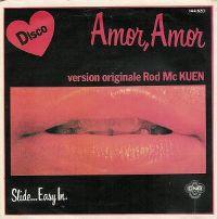 Cover Rod McKuen - Amor, Amor