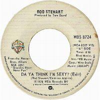 Cover Rod Stewart - Da' Ya' Think I'm Sexy