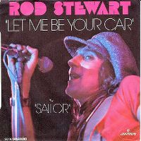 Cover Rod Stewart - Let Me Be Your Car