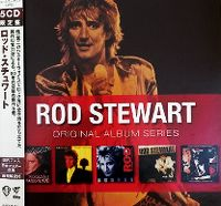 Cover Rod Stewart - Original Album Series
