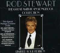 Cover Rod Stewart - The Great American Songbook Collection