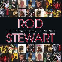 Cover Rod Stewart - The Studio Albums 1975-2001