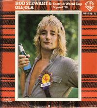 Cover Rod Stewart & Scottish World Cup Squad '78 - Ole Ola