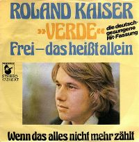 Cover Roland Kaiser - Frei - das heißt allein