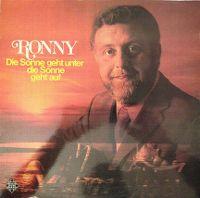 Cover Ronny - Die Sonne geht unter die Sonne geht auf