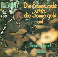 Cover Ronny - Die Sonne geht unter, die Sonne geht auf