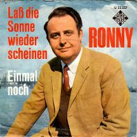 Cover Ronny - Laß die Sonne wieder scheinen
