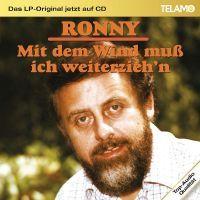Cover Ronny - Mit dem Wind muss ich weiterzieh'n