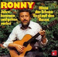 Cover Ronny - Wenn der Schnee liegt auf den Rosen