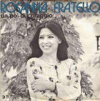 Cover Rosanna Fratello - Un po' di coraggio