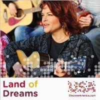 Cover Rosanne Cash (with Los Lobos & Bebel Gilberto) - Land Of Dreams