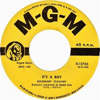 Cover Rosemary Clooney - It's A Boy
