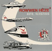 Cover Rowwen Hèze - Auto, vliegtuug