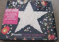Cover Roxette - The Pop Hits / The Ballad Hits