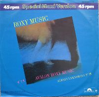 Cover Roxy Music - Avalon