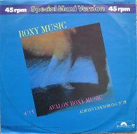 Cover Roxy Music - Avalon