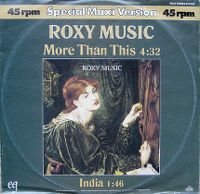 Cover Roxy Music - More Than This