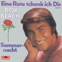 Cover Roy Black - Eine Rose schenk ich dir