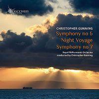 Cover Royal Philharmonic Orchestra - Christopher Gunning: Symphony No 6 - Night Voyage - Symphony No 7