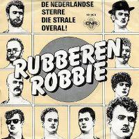 Cover Rubberen Robbie - De Nederlandse sterre die strale overal!